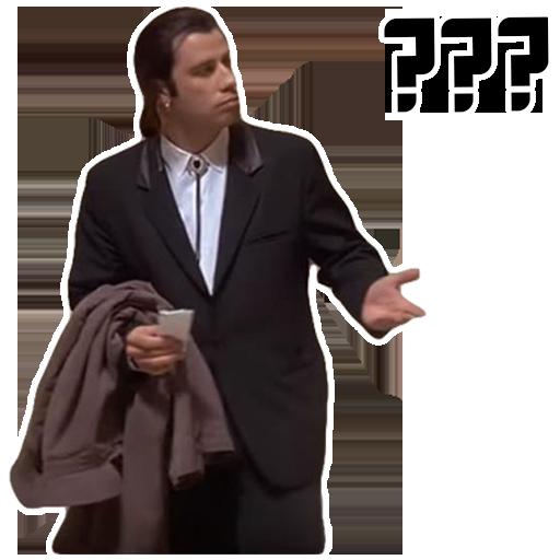 Гифка мем с траволтой